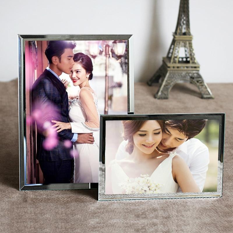 5 7 8 10 a4 crystal glass photo frame wedding gift decoration ...