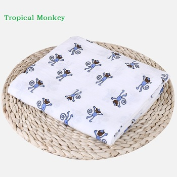 Baby Blanket Breathable Muslin Wrap Newborn Cotton Bamboo Fiber Baby Swaddle Multifunction Muslin Bedding 120*120cm fox muslin quilt four layer bamboo baby muslin blanket muslin tree swaddle better than aden anais baby blanket infant wrap