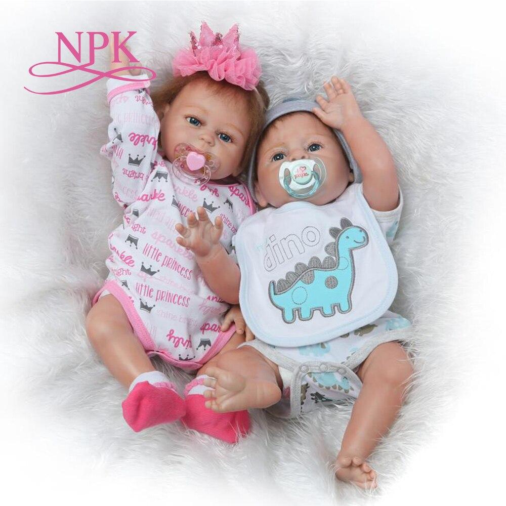NPK 22 Новое прибытие Виктория черные волосы Handmad adora Реалистичная кукла лучший рождественский подарок силиконовые Bebe куклы реборн