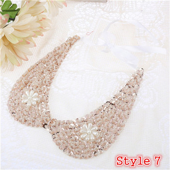 Fashion Women's Sequined Choker Necklaces Jewelry Necklaces Women Jewelry Metal Color: Style 7