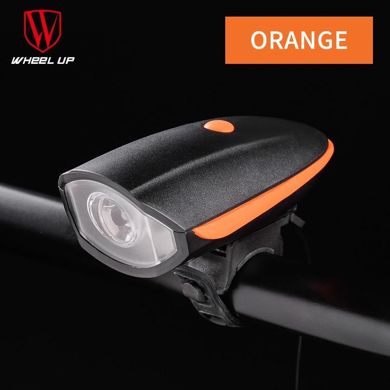Kotač USB Punjenje 240 Lumen IPX4 Električni rog Bicikl Noćna - Biciklizam - Foto 5