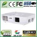 5% Descuento CRE X2000VX 1920*1080 100000:1 proyector hd 1080 p resolución nativa