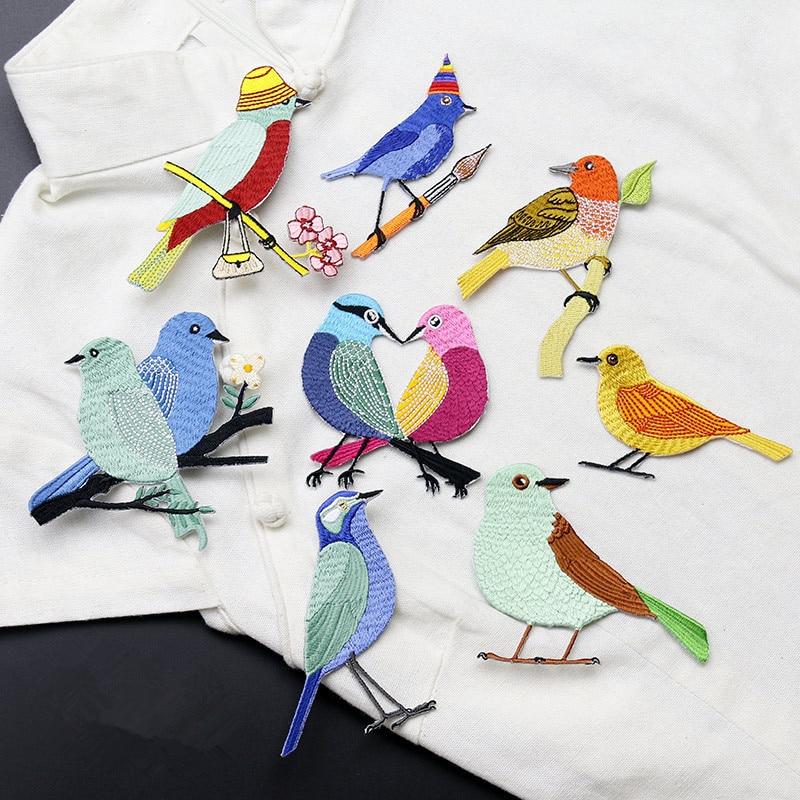 1PC sarjakuva söpö kiss lintujen laastari tarrat vaatteet mekko - Taide, käsityöt ja ompelu - Valokuva 1
