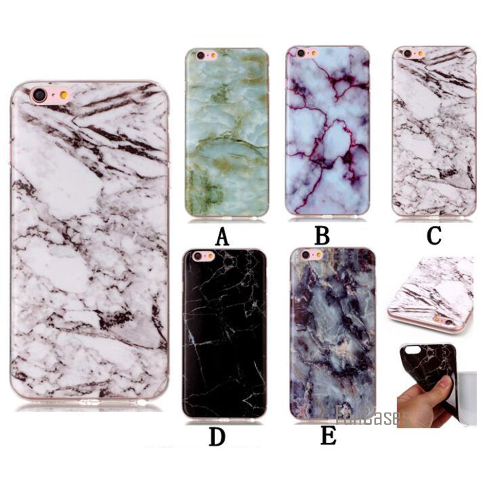 Cover Case For iPhone 6 Hot Silicon Soft TPU Marble Pattern Back Celular Coque 4.7 inch Phone Bags Cases For iPhone 6S Holder