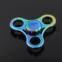 Colorful Zinc Alloy Torqbar Tri-spinner High Speed Autism and ADHD Kids/Adult Finger Spinner Rotation Time Long Hand Spinner
