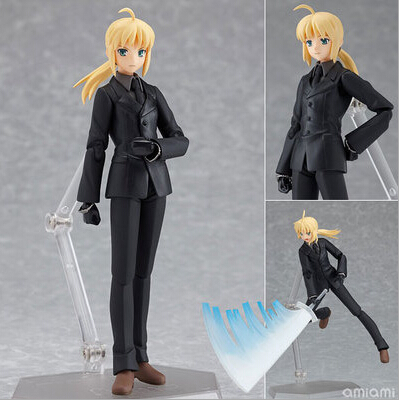 NEW hot 15cm Fate stay night Saber The Holy Grail War Fate/zero Saber action figure toys Christmas gift collectors