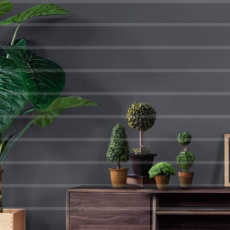 1 ensemble (4 pièces) simulation petit bonsaï bureau vert plante décoration arbre pot simulation plante étude vivant décoration AP5111710
