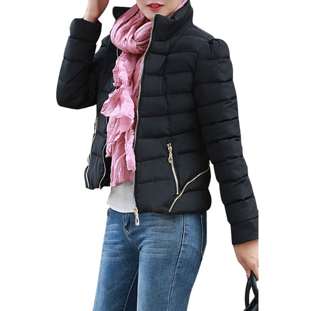 2015 Women's Winter Jackets Black Thicken Down Coat Women Ultra ...