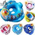 65*60 cm Capacidade Máxima 23 KG Crianças Sentado Círculo Vida Flutuante Anel da Nadada Do Bebê dos desenhos animados