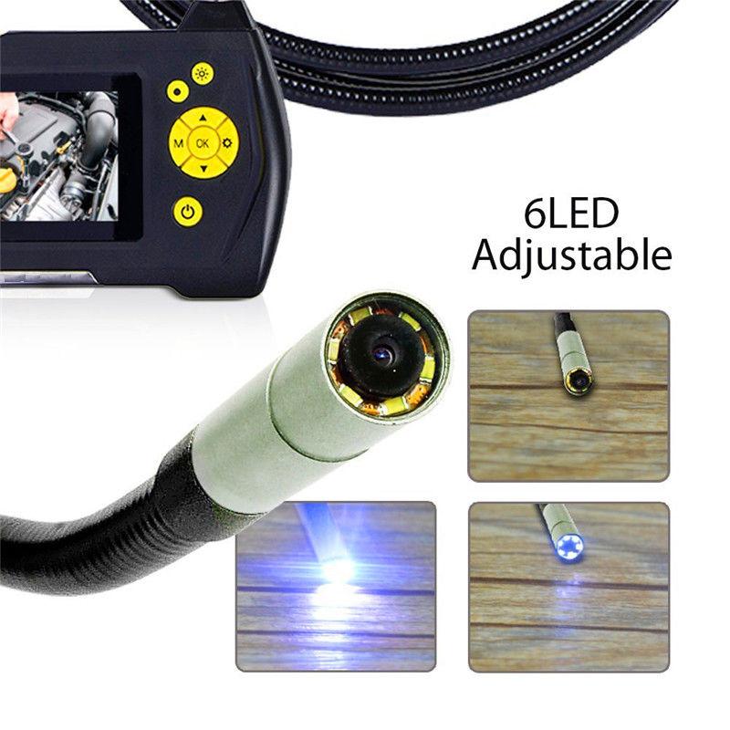 Fri frakt! 8 GB NTS100 Endoskop 5,5 mm Borescope Orminspektionskamera - Säkerhet och skydd - Foto 2