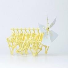 Wind bionic walking robot wind energy puzzle toys robots power machinery beast