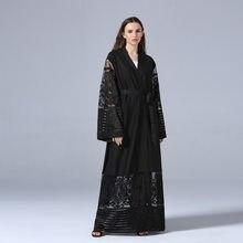 Aggiungi alla Lista dei Desideri. Moda Modello Maxi Vestito del ricamo  della maglia Cardigan Abiti Abaya Islamico Musulmano Hijab Abiti Caftano ·  2 Colore 2c965b57a64