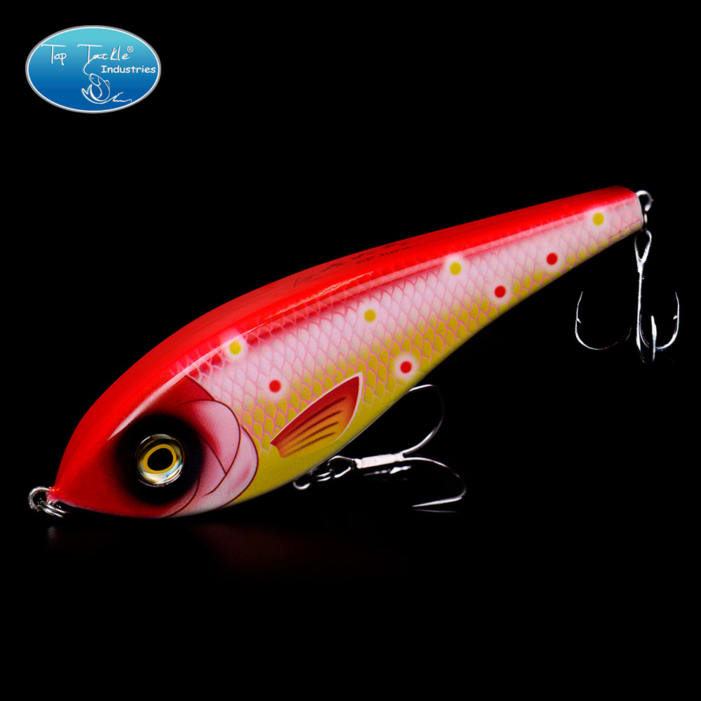 Topwater Pencil Jerk Bait Unique Head Design Fishing Lure 155mm 80g