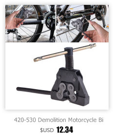Motorcycle Chain Demolition Tool Kit Bicycle Chain Removal Tools Chain Cutter