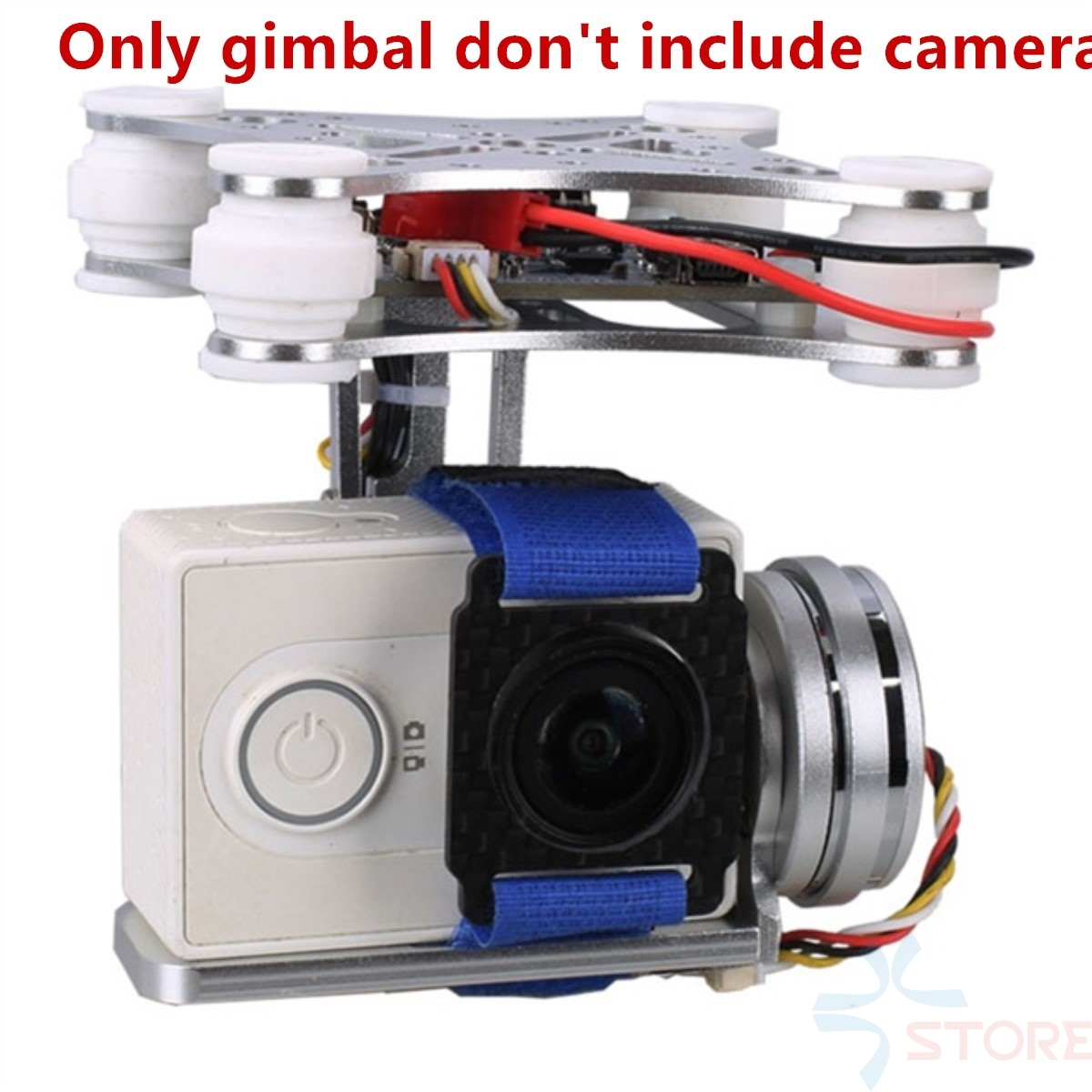 2 Aixs 2D Brushless Camera Gimbal for Gopro SJCAM XIAOMI YI Action Camera Eken F450 F550 S500 FPV Drone Multirotor Quadrocopter