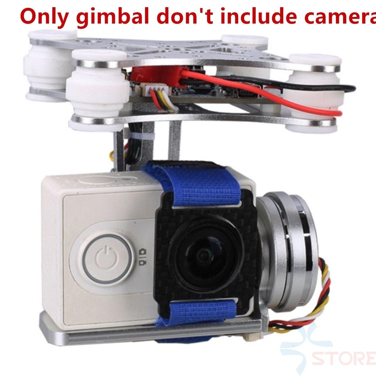 2 aixs 2D бесщеточный Камера Gimbal для GoPro SJCAM Xiaomi Yi Action Камера Экен F450 F550 S500 FPV Drone multirotor квадрокоптер