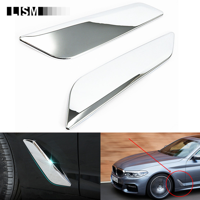 Roof Racks & Boxes For Bmw 5 Series F10 2011 2012 2013 2014 Rear Trunk Lid Molding Cover Trim 1pcs Stainless Steel Elegant And Sturdy Package