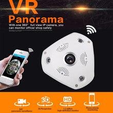 Wirelss VR 360 Камера Fisheye системы видеонаблюдения 960 P IP Камера 360 градусов действие Камера панорама Камера ночного видения