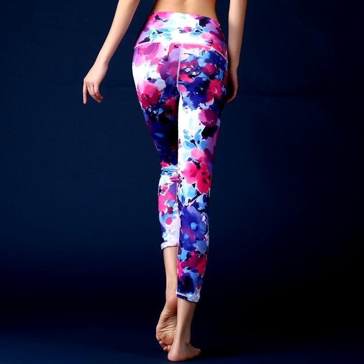 7d0054ba33 Colorful 3D Print Yoga Pants Fitness Yoga Leggings Push Up Running Sport  Tights Women Workout Yoga Clothing Cheap Shop Online on Aliexpress.com |  Alibaba ...