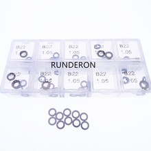 400 PCS B22 Washer Shim CRI2 CRI3 Common Rail Injector Repair Steel Adjusting Gasket Set Size 1.04 - 1.07 Accuracy 0.01mm