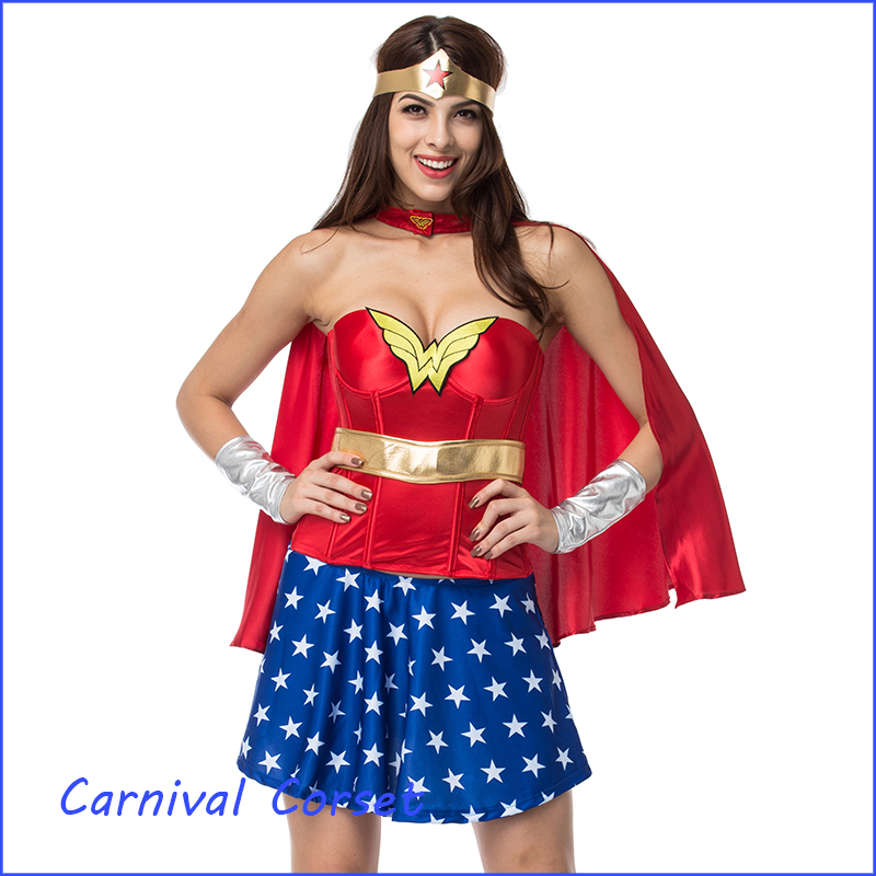 Wonder Woman Corset Top