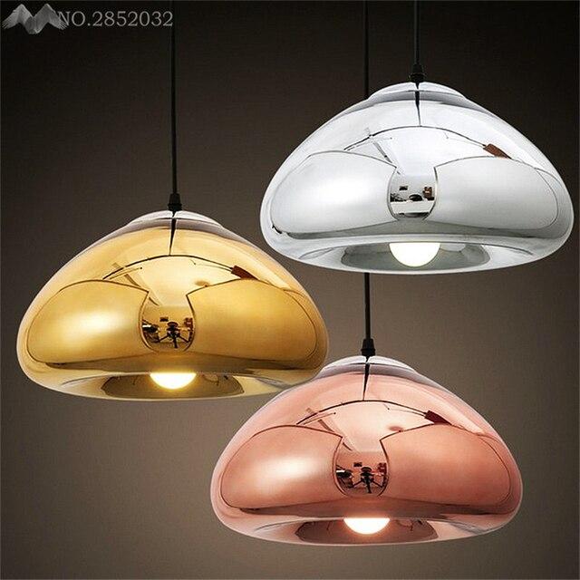 JW Moderne Pendelleuchten Globus Glas Ball Lampenschirm ...