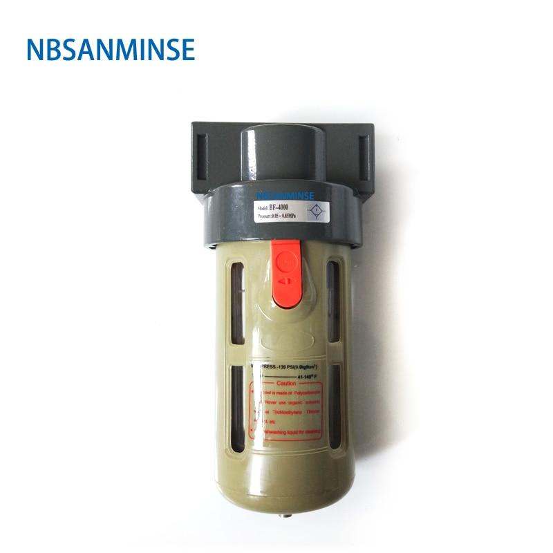 AF 2000 BF 1/4 3/8 1/2 Air Preparation Units Filter AirTAC Type Source Equipment FRL Compressor Auto Drain Sanmin