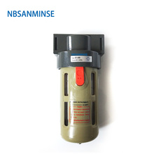 AF 2000 BF 1/4 3/8 1/2 Air Preparation Units Filter AirTAC Type Source Equipment FRL Compressor Auto Drain Sanmin