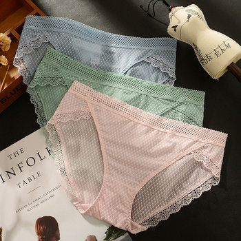 Hollow Underwear Women high quality lace Panties