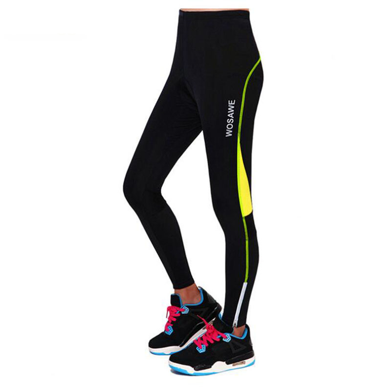 2017 New Summer Women s Bike Cycling Tights 2 Color Letter 3D GEL Pink Pad Sports Cycling Equipment Breathable Long Pants H137