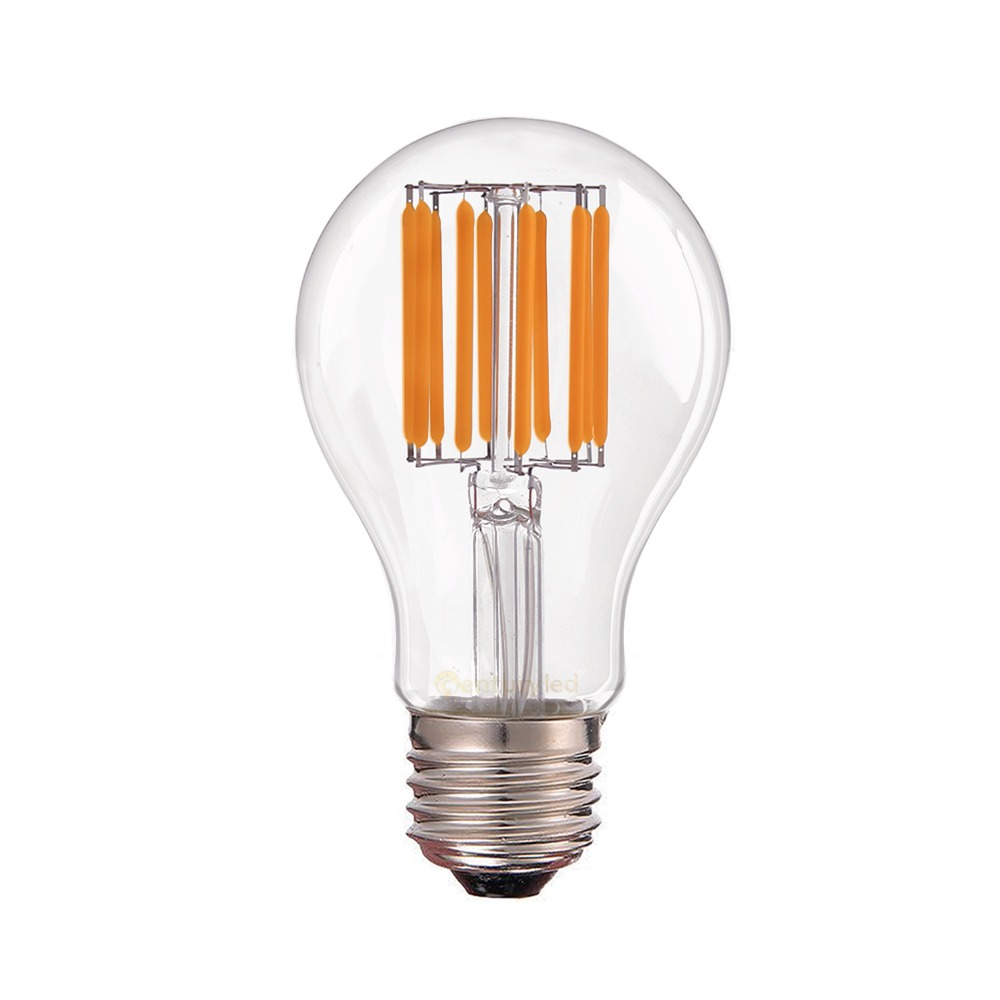 Buy Dimmable Led Filament Bulb 4w 6w 8w 2700k Warm White A19 Edison Style 110v