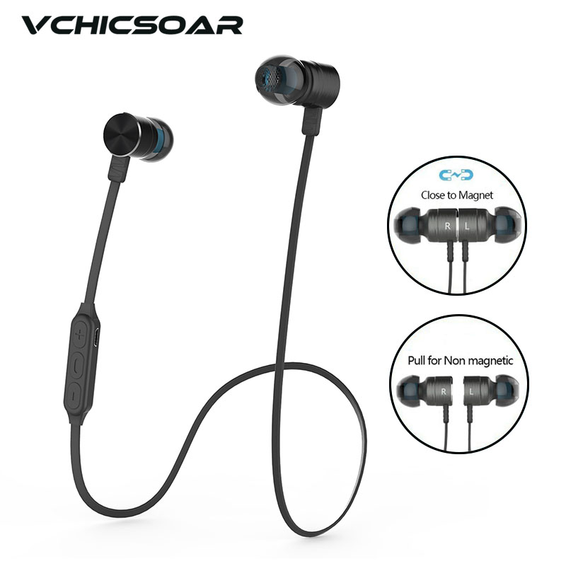 Vchicsoar TB48 Bluetooth Headphone Wireless Headset Earphone Handsfree Noise Reduction Headphones Stereo fone de ouvido with Mic bluetooth earphone wireless music headphone car kit handsfree headset phone earbud fone de ouvido with mic remax rb t9