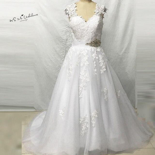 Christmas Boho Lace Wedding Dress Princess Wedding Gowns 2017 Online ...