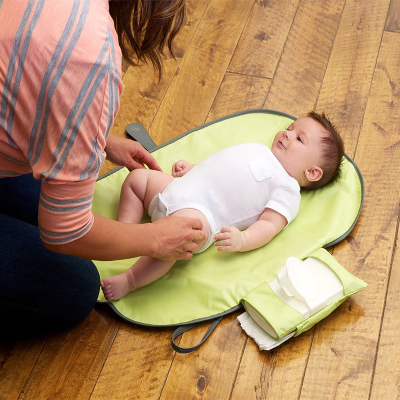 Пеленальный Коврик для ребенка, пеленка, портативный пеленальный столик для ребенка, текстиль для коляски, пеленки, коврик, складной, для автомобиля, для путешествий, сменная станция