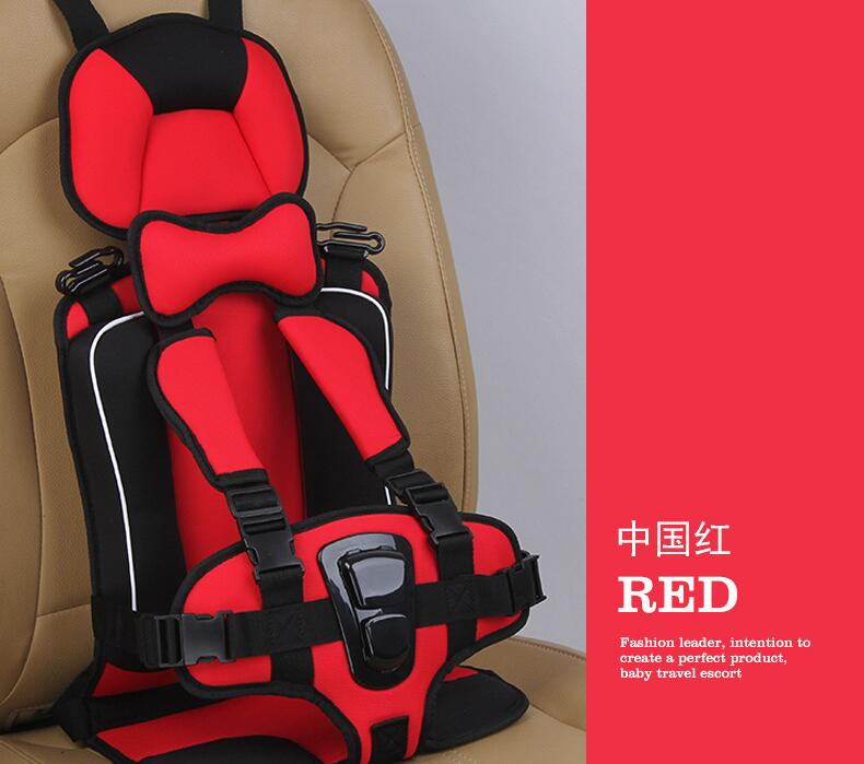 New Adjustable Baby Car Seat Safe Toddler Booster Seat Child Car Seats Portable Baby Chair In Cars  6 Months-5 Years Old Baby