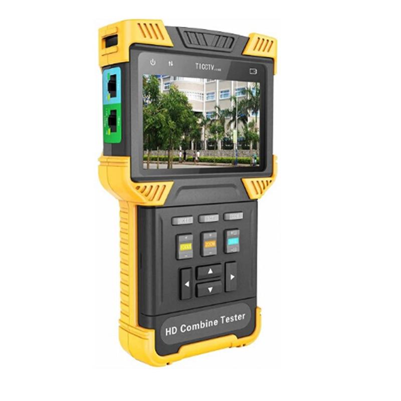 Dt-t61 Freies Verschiffen Unterstützung Onvif Poe, Rs485 Ptz Control Security Analog Tester + Ip Video Meter Hd Kombinieren Tester