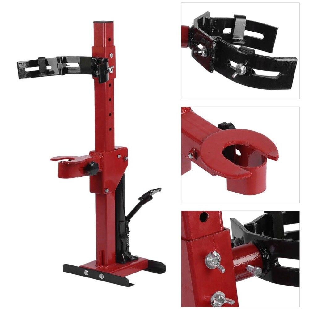 DE Hydraulique Bobine Printemps Compresseur 1000 kg Compression Station Avec Pied Pédale Choc Absorbant Compression Démontage Dispositif