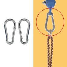 Поворотный крюк для гамак качели стул Подвеска из нержавеющей стали аксессуары для сиденья Комплект Гамак стул висячий комплект для внутреннего/наружного