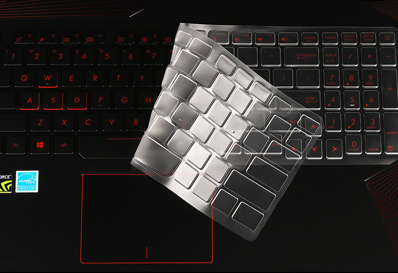 Protetores de Teclado do Laptop Tpu Transparente Claro guarda Capa Para New ASUS ROG GL753 GL753VD GL753VE 17.3