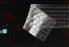 High Clear Transparent Tpu Keyboard protectors skin Covers guard For New ASUS ROG GL753 GL753VD GL753VE 17.3