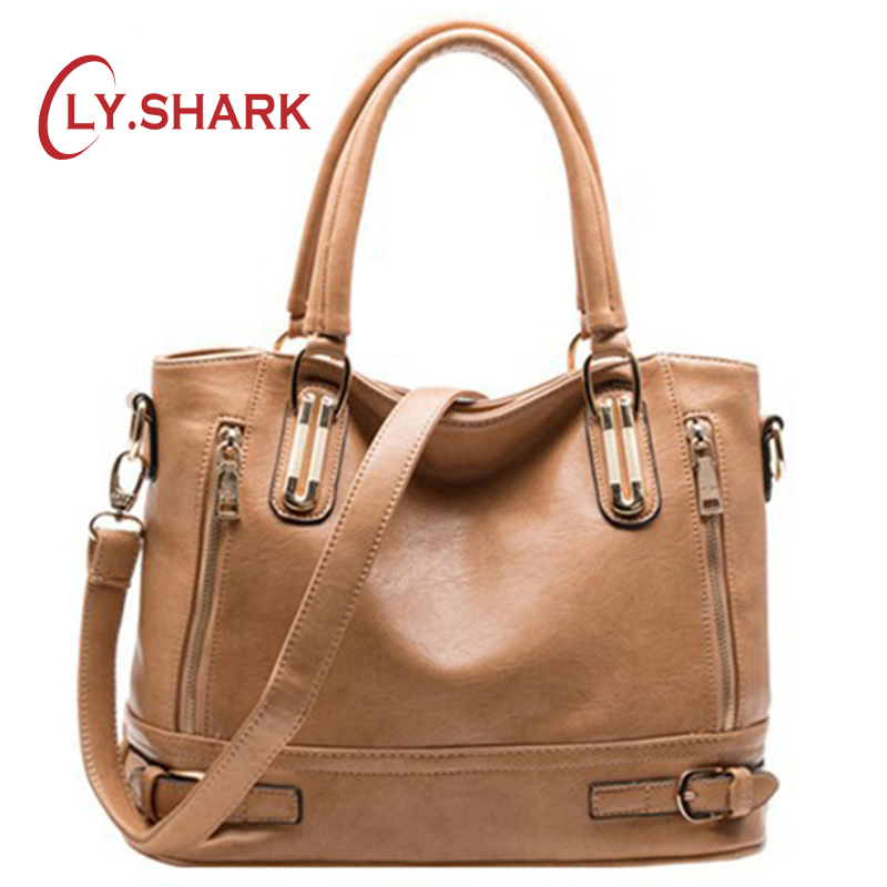 LY.SHARK Women messenger bags handbag women famous brand High Quality women bag Ladies shoulder bag dollar price bolsos tote bag 2018 women handbags leather handbag women messenger bags ladies brand designs bag famous bags handbag purse messenger bag 3 sets