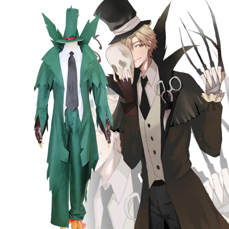 Game Identity V Cosplay Costume Jack Original Cosplay Costume Halloween Carnival Party Cosplay Costume