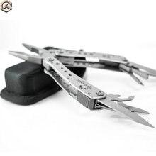 10 teile/los durch DHL Ganzo G201 Multi Werkzeuge Klapp Zange Schere Schraubendreher Überleben EDC Multitool Tasche Messer multi Zangen