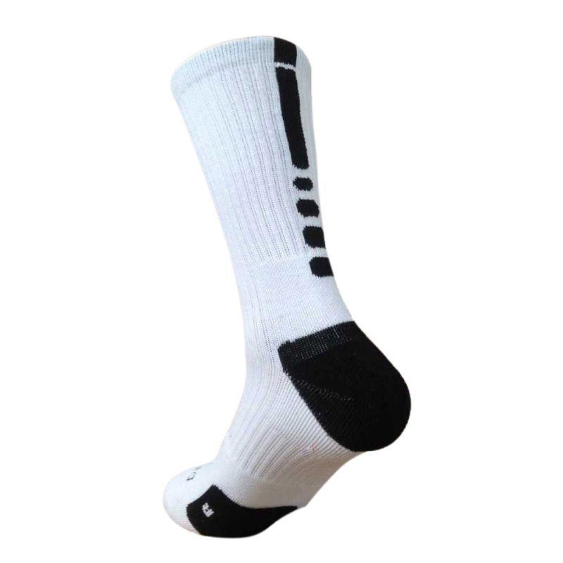 7 Colors Men Sport Fitness Cotton Socks Cushioned Crew-Athletic Dri-Fit Football Basketball Sports Running Socks Sets
