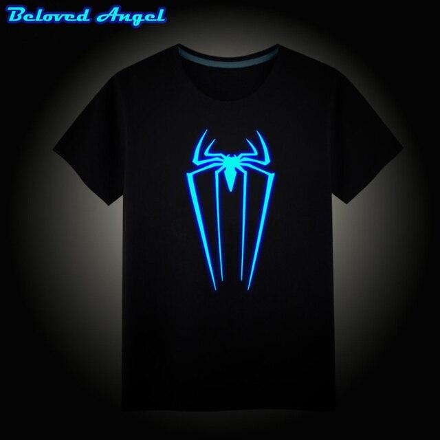 84537011 2019 New Design Summer Style Baby Boys Girls T Shirt Kids Short Sleeve Tops  Neon Print Shine In The Darkness Kids Tees 3-15years