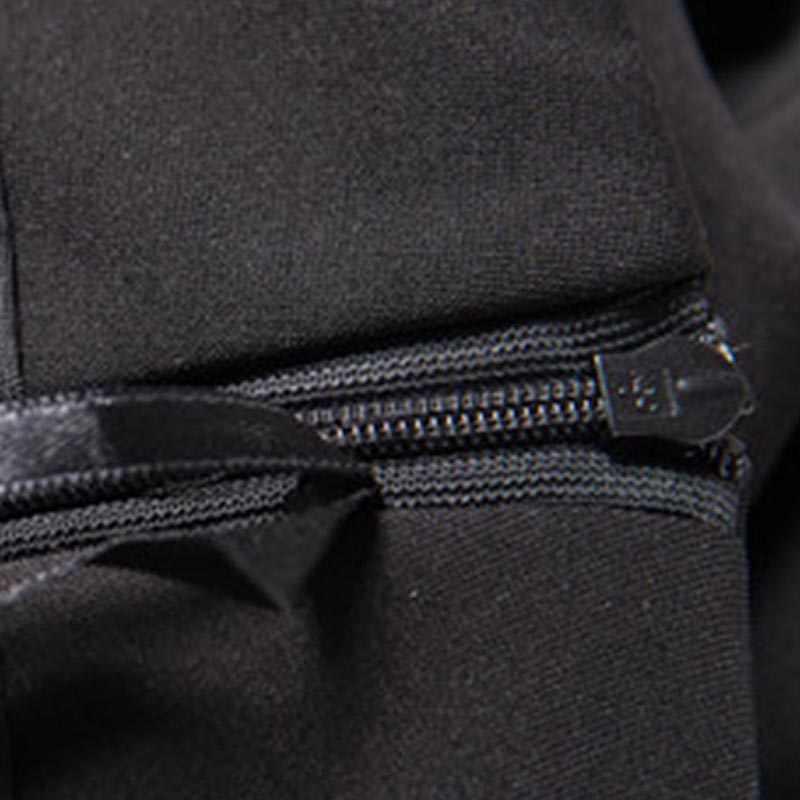 f668365acf ... Sisjuly otoño vintage falda de las mujeres de largo 1950 s negro sólido  sirena retro otoño ...