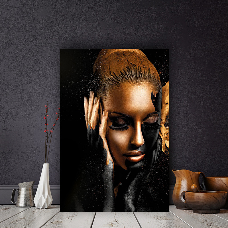 African art oil painting canvas