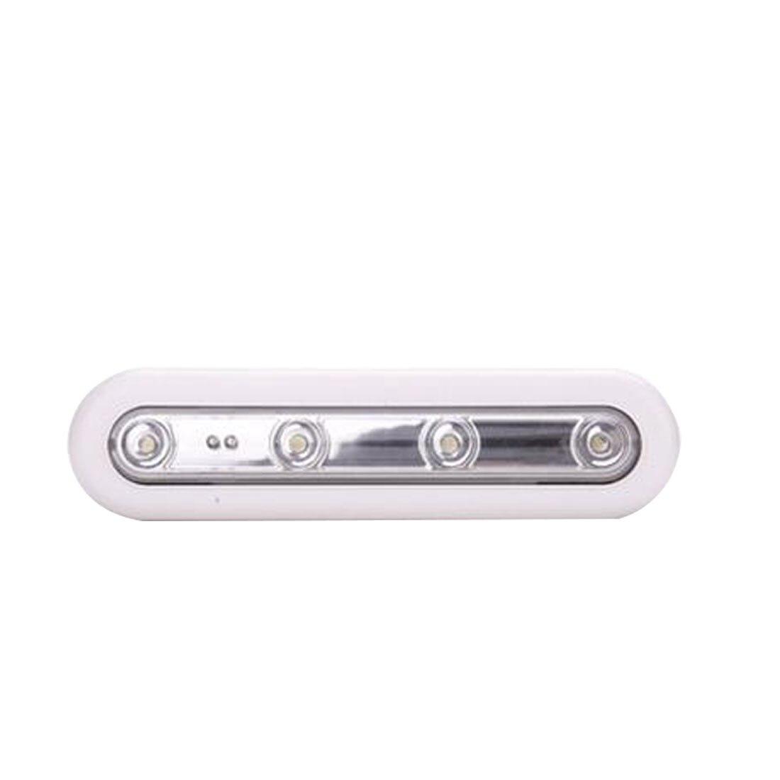 Closet Insertion 4 LED Touch Sensor Light Push Light Disaster Emergency Light Closet