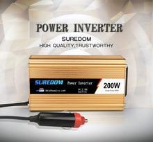 200W Low Power Vehicle Inverter Solar Inverter Multifunctional Travel Power Supply Control USB Car inverter DC 12V AC 110 120V