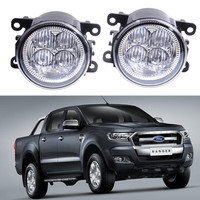 For FORD Ranger 2012 2015 10W High Power Lens Fog Lights Car Styling Fog Lights 1set